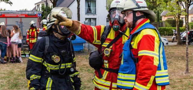Kellerbrand im Mehrfamilienhaus in Edendorf