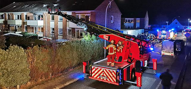 Wohnungsbrand im Wellenkamp