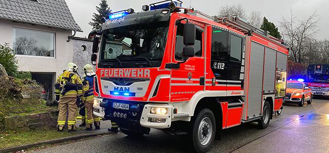 Kellerbrand in Oelixdorf