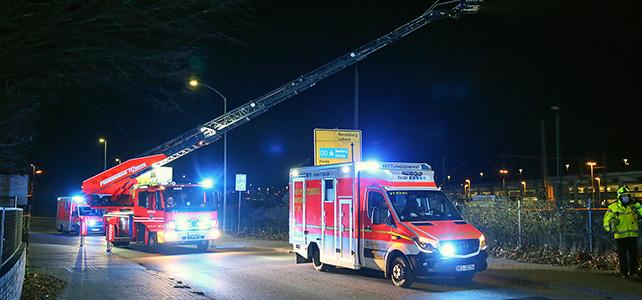 Tödlicher Stromunfall am Itzehoer Bahnhof