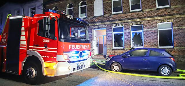 Wohnungsbrand in der Kaiserstraße