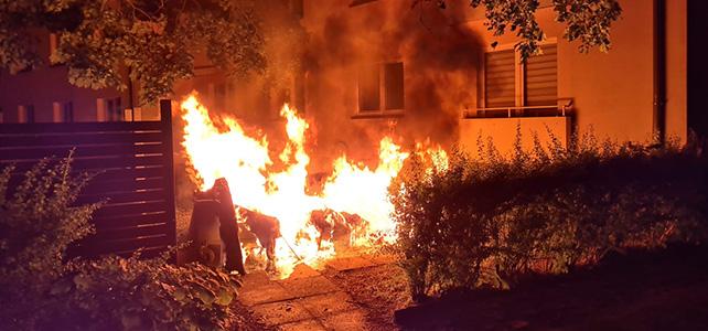 Erneut zwei Feuer in der Nacht